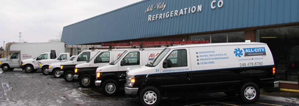 All City Refrigeration Vehicles